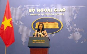 Việt Nam ủng hộ tự do hàng hải nhưng phản đối bắn đạn thật ở Hoàng Sa