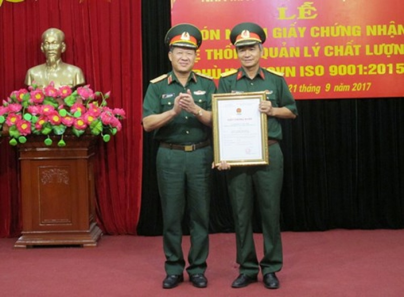 nha may z189 don nhan giay chung nhan he thong quan ly chat luong phu hop tcvn iso 90012015
