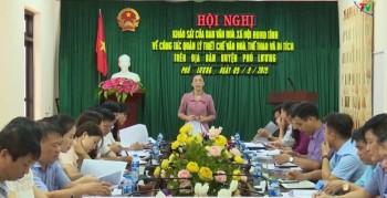 ban van hoa xa hoi hdnd tinh khao sat tai huyen phu luong