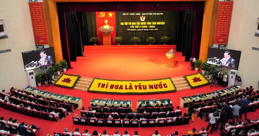 Trực tuyến Đại hội Thi đua yêu nước tỉnh Thái Nguyên lần thứ V, giai đoạn 2020 - 2025