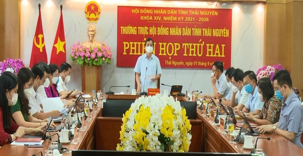 Phiên họp thứ hai, Thường trực HĐND tỉnh khóa XIV, nhiệm kỳ 2021-2026