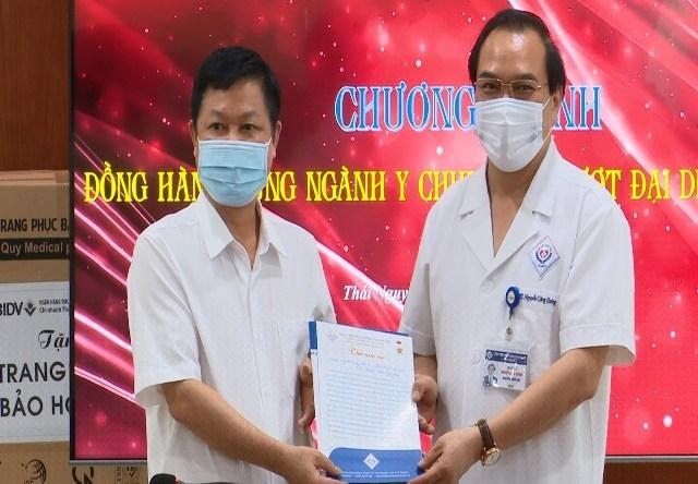 Đồng hành cùng ngành Y chung tay vượt đại dịch COVID-19