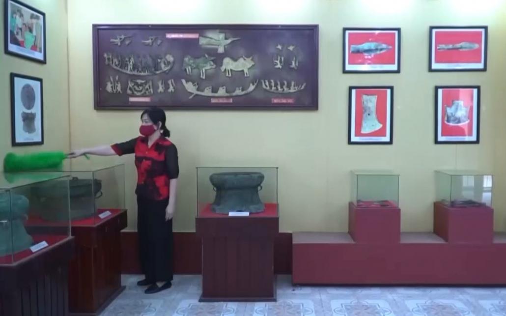 Thiếu không gian trưng bày ở Bảo tàng tỉnh Thái Nguyên
