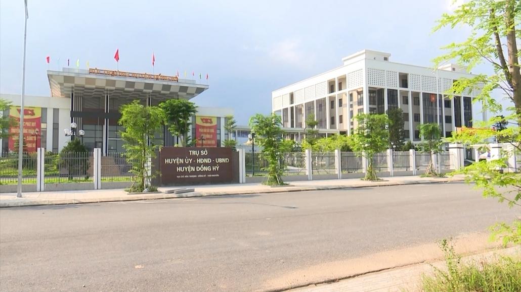 Dấu ấn khu hành chính mới huyện Đồng Hỷ