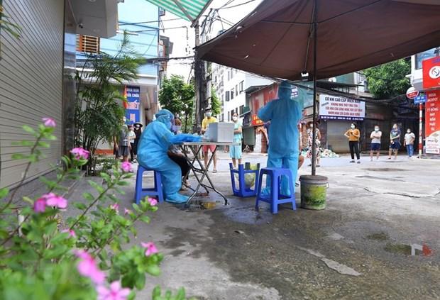 Sáng 15/9: Hà Nội thêm 3 ca mắc COVID-19 ở Hoàng Mai và Thanh Xuân