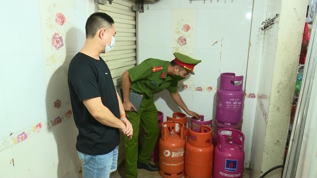 An toàn phòng, chống cháy nổ ở các cửa hàng kinh doanh gas