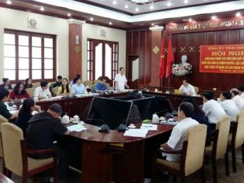 Hội nghị giao ban công tác dân vận quý III năm 2016
