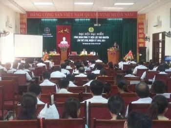 Đại hội đại biểu Công đoàn Công ty Điện lực Thái Nguyên lần thứ XXIII