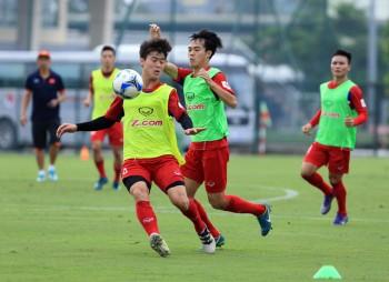 Đội tuyển Việt Nam thiếu quân trầm trọng trước trận gặp Campuchia