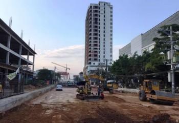 Đẩy nhanh tiến độ thi công Cầu Bến Tượng, TP Thái Nguyên