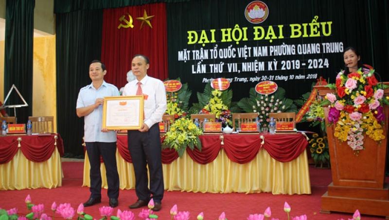 thai nguyen to chuc dai hoi diem mat tran to quoc cap xa nhiem ky 2019 2024