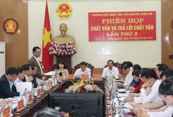 phien hop chat van va tra loi chat van lan thu 2 cua thuong truc hdnd tinh khoa xiii