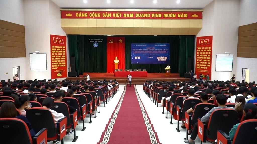Ngày hội khởi nghiệp đổi mới sáng tạo tỉnh Thái Nguyên năm 2020
