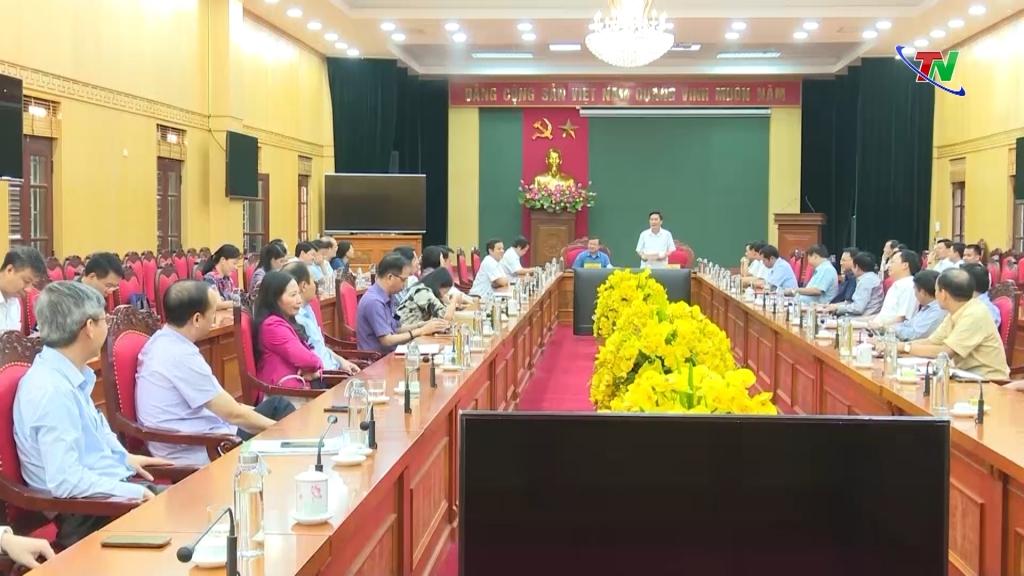 Gặp mặt Đoàn đại biểu dự Đại hội Đảng bộ tỉnh lần thứ XX