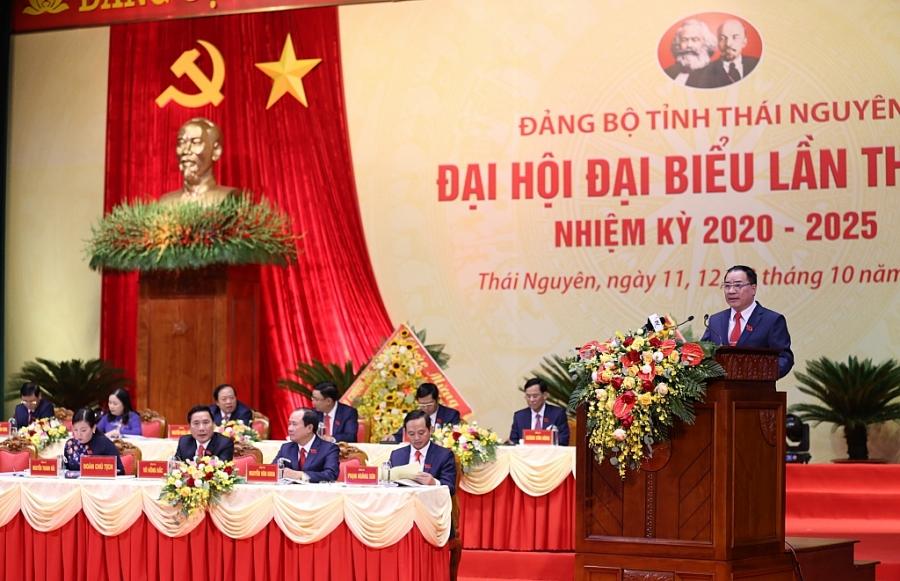 [Photo] Toàn cảnh Khai mạc Đại hội đại biểu Đảng bộ tỉnh Thái Nguyên lần thứ XX, nhiệm kỳ 2020 2025