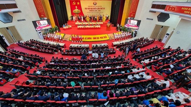 [Trực tuyến] Khai mạc Đại hội đại biểu Đảng bộ tỉnh Thái Nguyên lần thứ XX, nhiệm kỳ 2020-2025