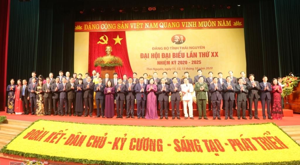[Trực tuyến] Ngày làm việc thứ ba Đại hội đại biểu Đảng bộ tỉnh Thái Nguyên lần thứ XX