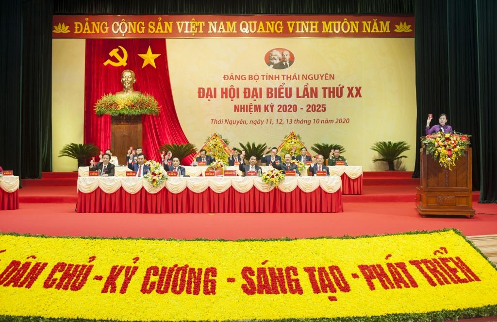 Tường thuật Lễ Bế mạc Đại hội đại biểu Đảng bộ tỉnh Thái Nguyên lần thứ XX, nhiệm kỳ 2020-2025