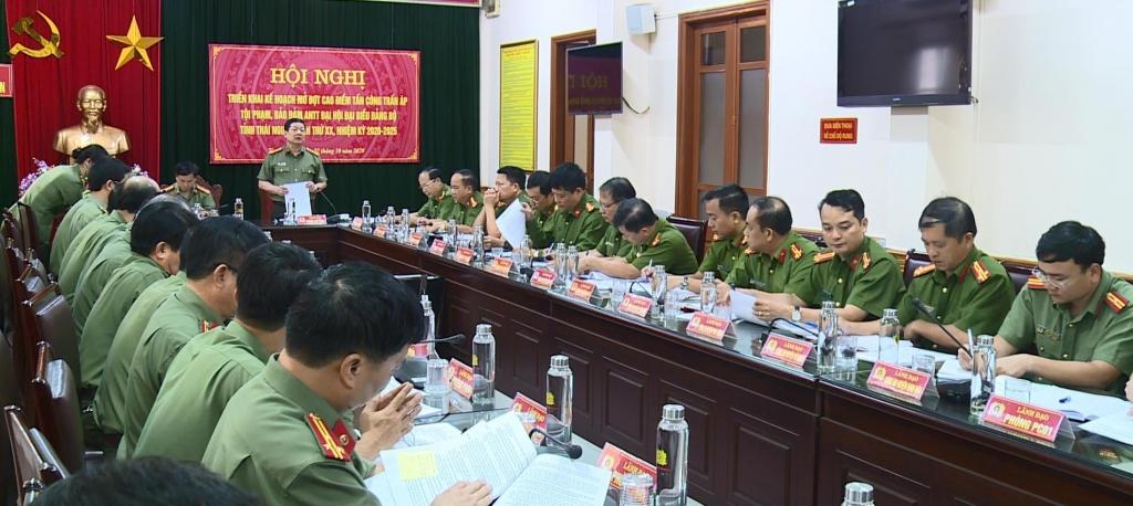 Đại hội đại biểu Đảng bộ tỉnh Thái Nguyên lần thứ XX diễn ra an toàn tuyệt đối