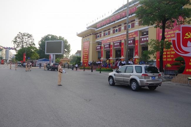 Đảm bảo an toàn tuyệt đối cho Đại hội đại biểu Đảng bộ tỉnh Thái Nguyên lần thứ XX