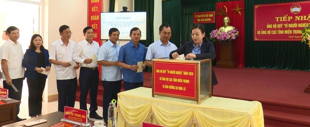 Phát động ủng hộ đồng bào miền Trung