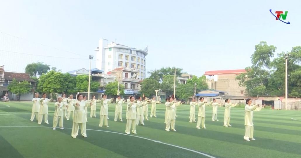 TP Thái Nguyên - điểm sáng phong trào luyện tập thể dục thể thao