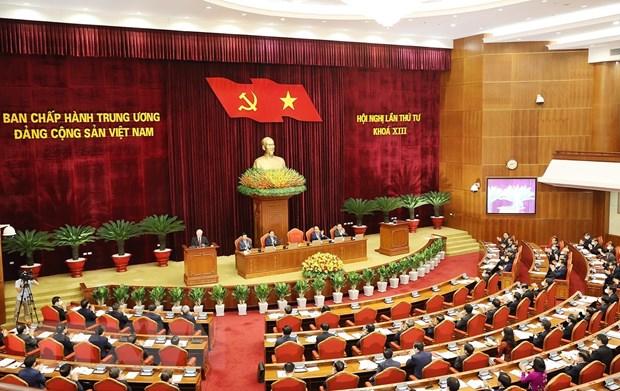 Khai mạc trọng thể Hội nghị lần thứ tư Ban Chấp hành TW Đảng khóa XIII