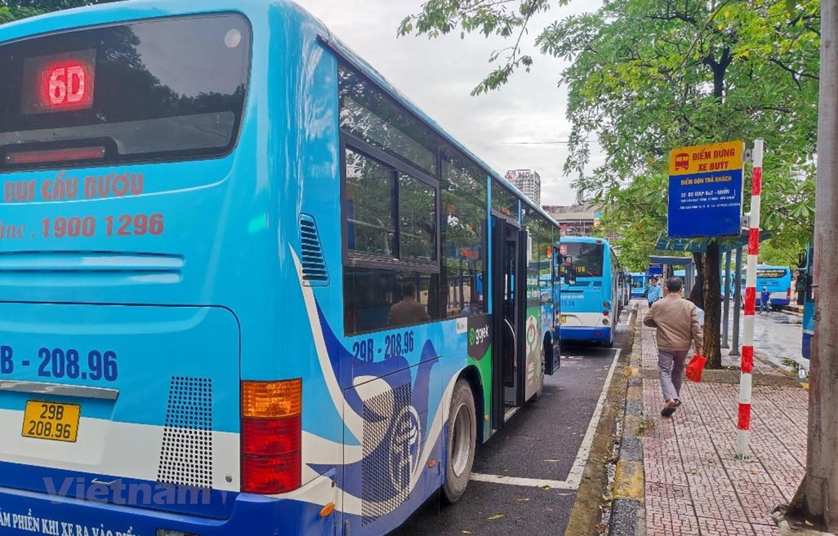 Buýt Hà Nội mở lại 118 tuyến, tần suất chạy hơn 5.350 lượt xe/ngày