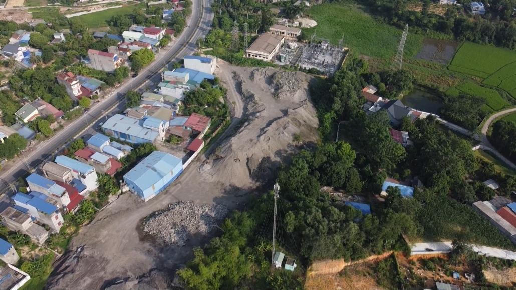 Bãi thải gây ô nhiễm môi trường