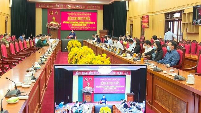 Thích ứng an toàn, linh hoạt, kiểm soát hiệu quả dịch COVID-19 trên địa bàn tỉnh Thái Nguyên