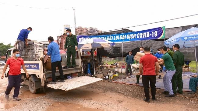 Thái Nguyên dừng hoạt động các chốt phòng, chống dịch COVID-19