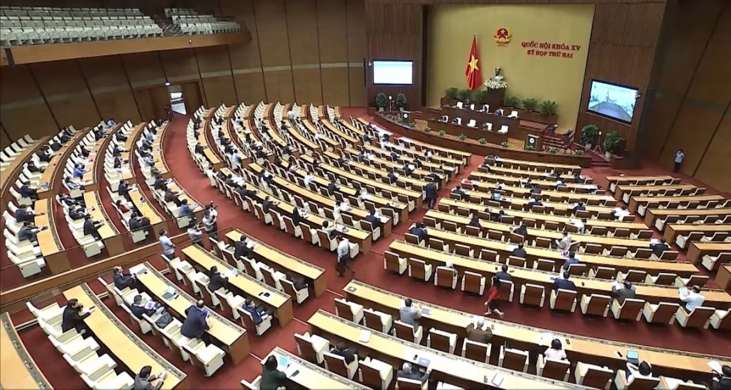 Quốc hội thảo luận về dự án Luật Cảnh sát cơ động, sửa đổi Luật Sở hữu trí tuệ