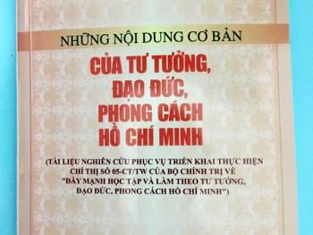 Những nội dung cơ bản của tư tưởng, đạo đức, phong cách Hồ Chí Minh