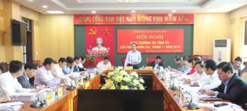 hoi nghi ban thuong vu tinh uy thai nguyen lan thu 54