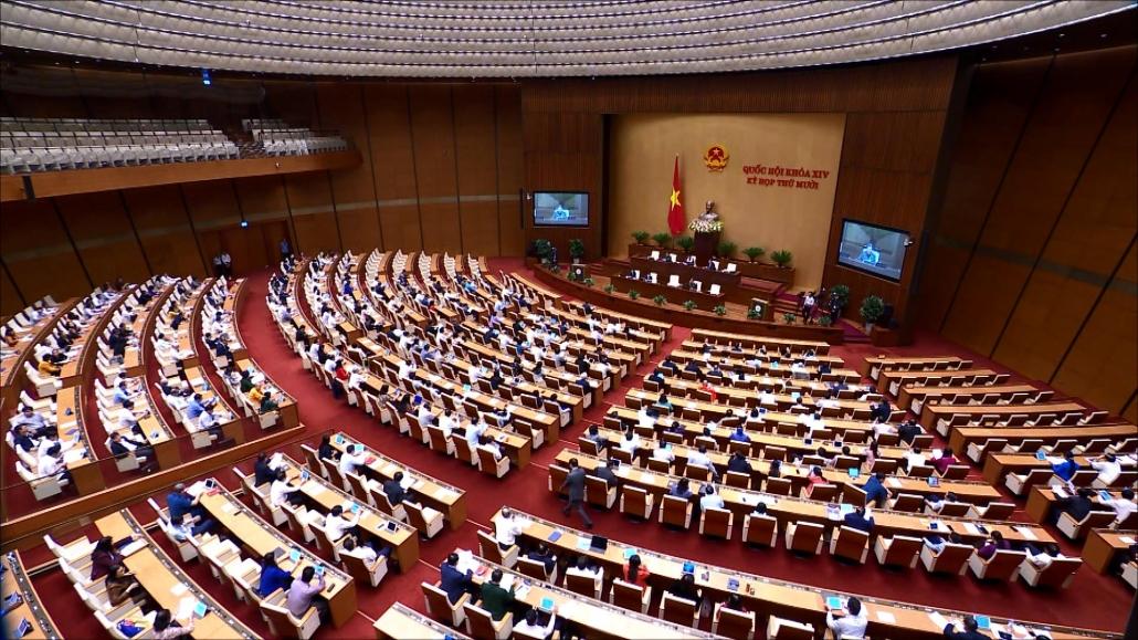 Quốc hội biểu quyết thông qua nhiều đạo luật và Nghị quyết quan trọng