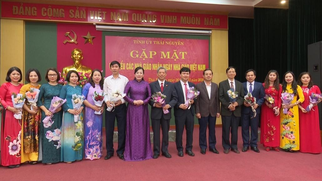 Lãnh đạo tỉnh chúc mừng các nhà giáo nhân kỷ niệm ngày Nhà giáo Việt Nam