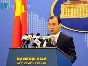 Việt Nam phản đối Trung Quốc triển khai vũ khí ở Biển Đông