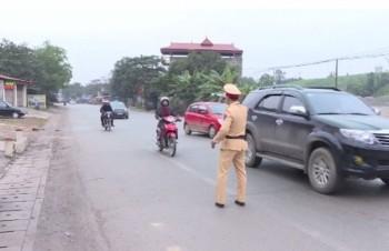 Ra quân bảo đảm trật tự an toàn giao thông, trật tự xã hội dịp Tết và lễ hội đầu xuân
