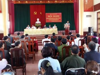 Thường trực Tỉnh ủy đối thoại với nhân dân huyện Đại Từ