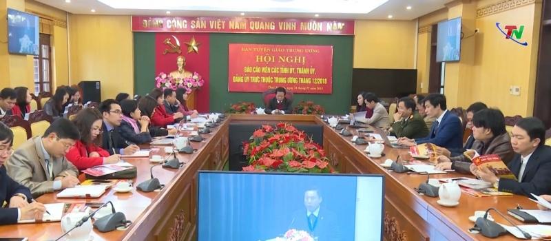 hoi nghi bao cao vien toan quoc thang 12 nam 2018