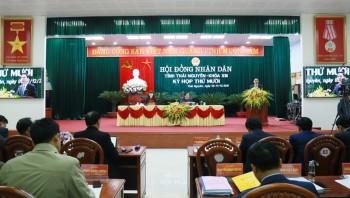 Kỳ họp thứ 10, HĐND tỉnh Thái Nguyên khóa XIII: Giải trình nhiều nội dung được đại biểu và cử tri quan tâm