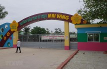 dinh chi hoat dong truong mam non mai vang buoc thoi viec co giao