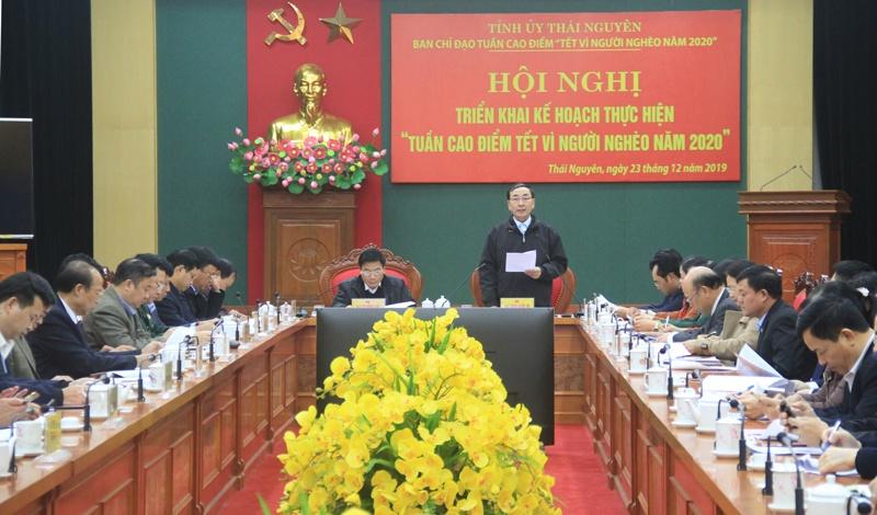 thai nguyen trien khai ke hoach tuan cao diem tet vi nguoi ngheo nam 2020