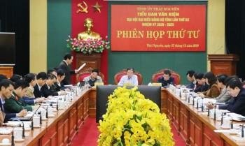 Phiên họp thứ 4, Tiểu ban Văn kiện Đại hội Đại biểu Đảng bộ tỉnh Thái Nguyên lần thứ XX