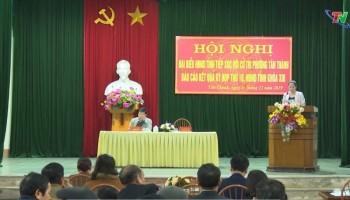 Đại biểu HĐND tỉnh tiếp xúc với cử tri phường Tân Thành, TP Thái Nguyên