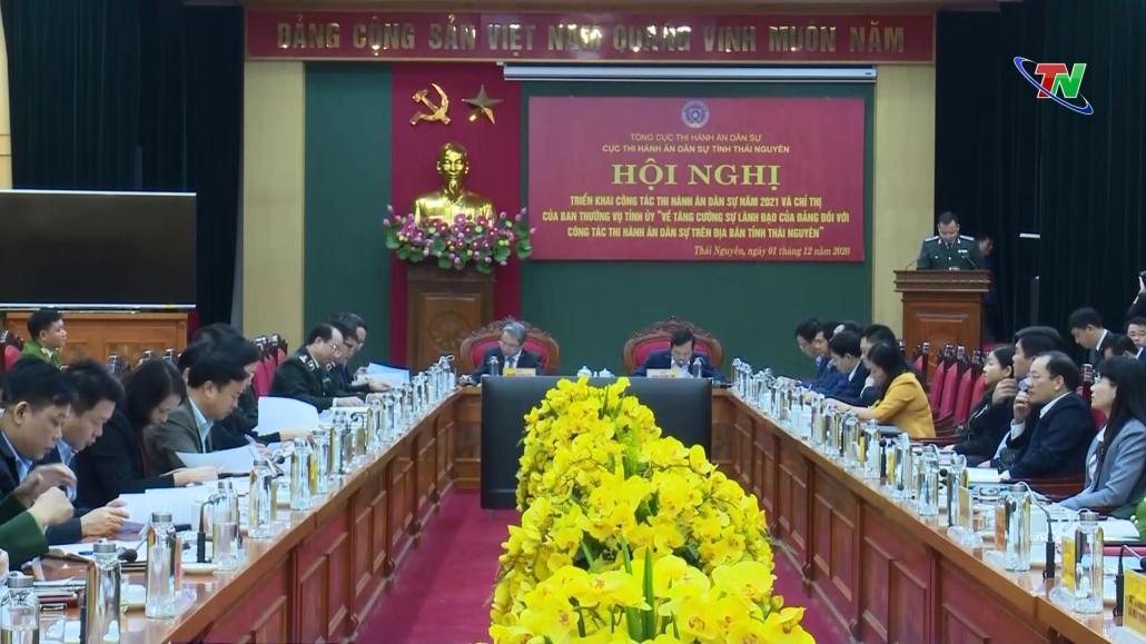 Tăng cường sự lãnh đạo của Đảng đối với công tác thi hành án dân sự tại Thái Nguyên