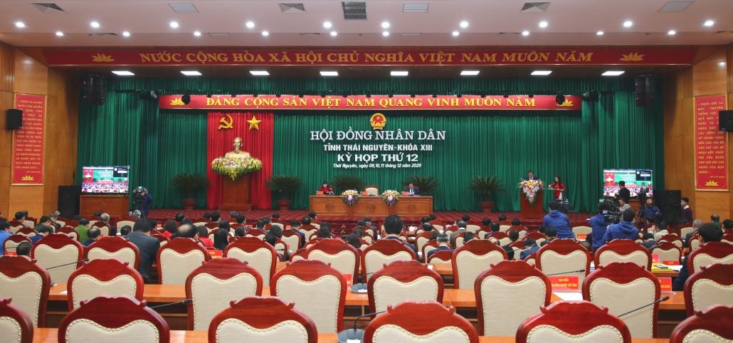 Trực tuyến: Khai mạc Kỳ họp thứ 12, HĐND tỉnh Thái Nguyên khóa XIII, nhiệm kỳ 2016-2021