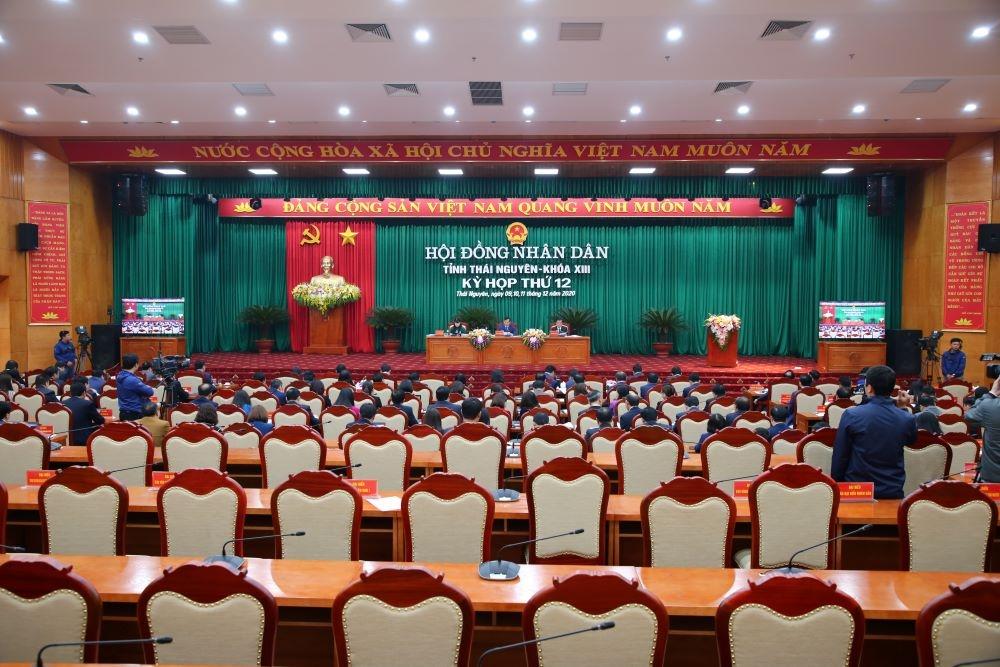 Trực tuyến: Bế mạc Kỳ họp thứ 12, HĐND tỉnh Thái Nguyên khóa XIII