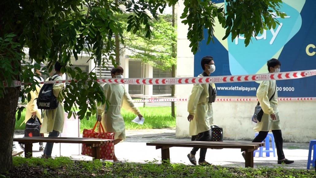 [Photo] Ngày 15/6 bắt đầu đón người lao động tại Bắc Giang trở về Thái Nguyên