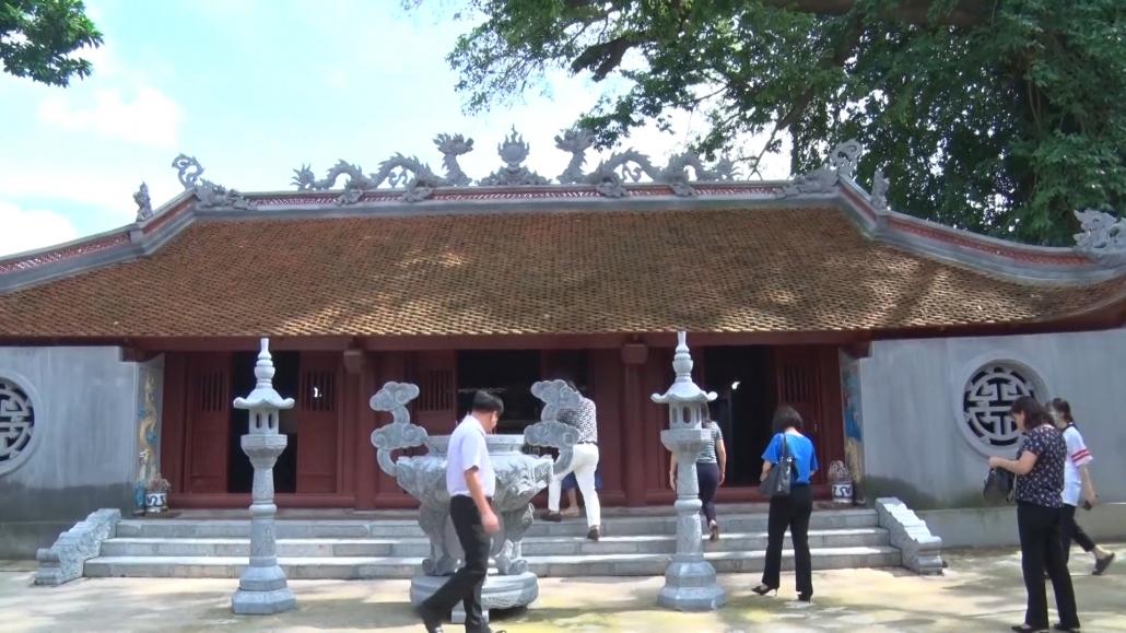 Thị xã Phổ Yên: Bàn giao công trình tu bổ, tôn tạo Di tích Quốc gia Đền Lục Giáp giai đoạn 1